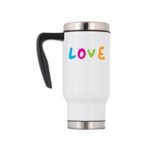 Kubek termiczny Love, color