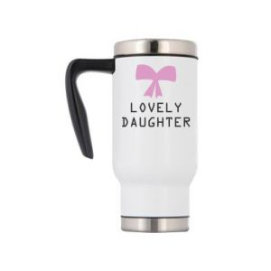 Travel mug Lovely daughter