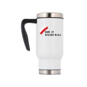 Travel mug Made in Bielsko-Biala