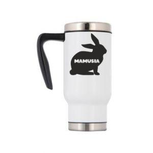 Kubek termiczny Mamusia - królik