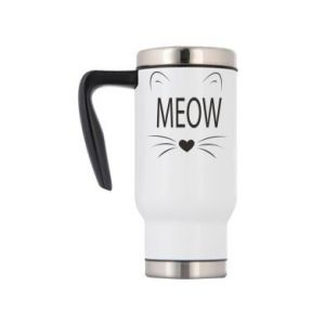 Travel mug Fluffy Meow