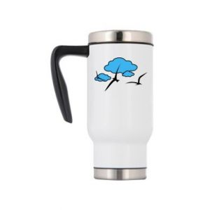 Travel mug Seagulls