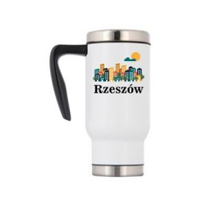Travel mug Rzeszow city