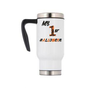 Travel mug My 1st halloween - PrintSalon
