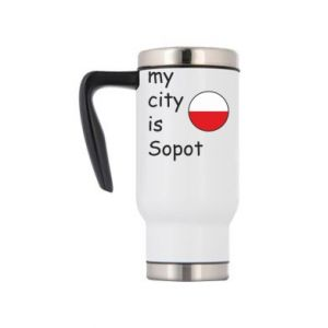 Kubek termiczny My city is Sopot