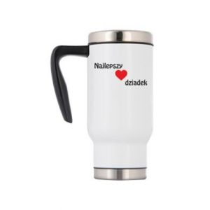 Travel mug Best grandfather with heart