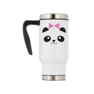 Travel mug Panda girl - PrintSalon