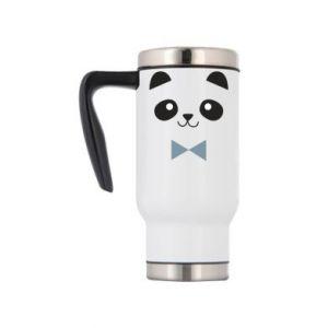 Travel mug Panda guy - PrintSalon