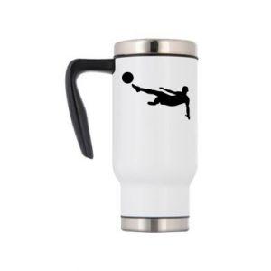 Travel mug Football