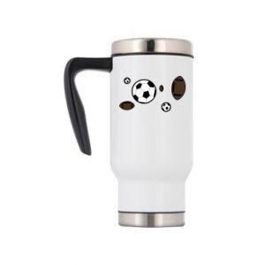 Travel mug Balls for games