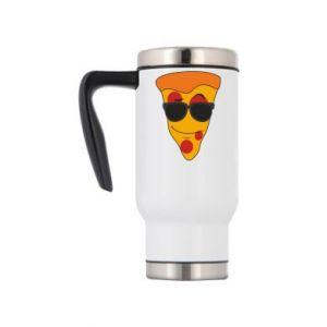 Kubek termiczny Pizza with glasses
