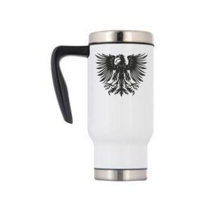 Kubek termiczny Polski herb - PrintSalon