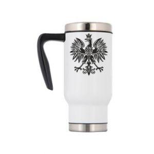 Kubek termiczny Polski orzeł - PrintSalon
