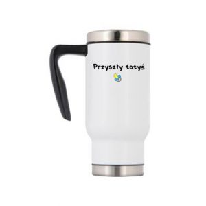 Travel mug Future daddy. Boy