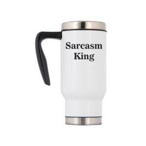 Kubek termiczny Sarcasm king