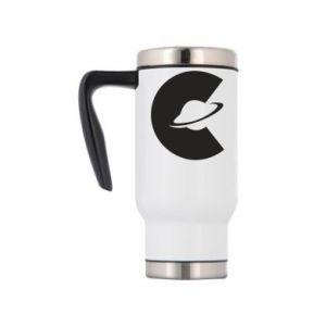 Travel mug Saturn in the shade