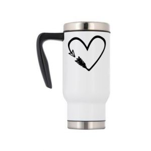 Travel mug Heart