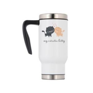 Travel mug Cute cats