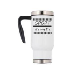 Kubek termiczny Sport it's my life