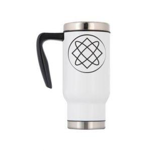 Travel mug Symbol of love, beauty, motherhood