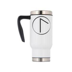 Travel mug Symbol of spring, love, honesty and beauty