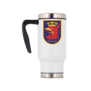 Travel mug Szczecin