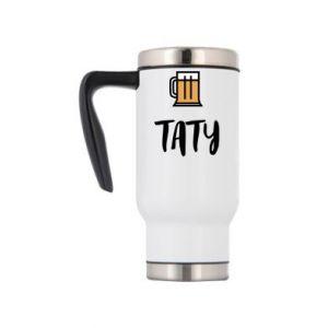 Kubek termiczny Tata i piwo