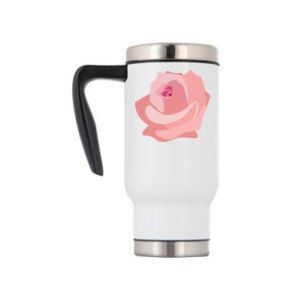 Travel mug Tender rose