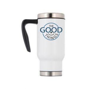 Travel mug The good things