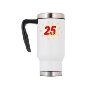 Kubek termiczny Urodziny. 25 lat