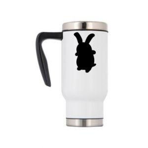 Travel mug Smiling Bunny