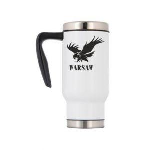 Kubek termiczny Warsaw eagle