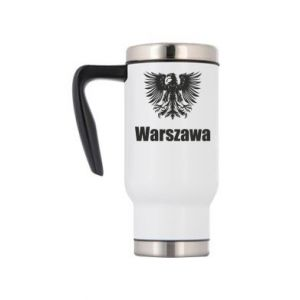 Travel mug Warsaw