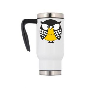 Travel mug Evil owl