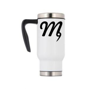 Travel mug Virgo sign