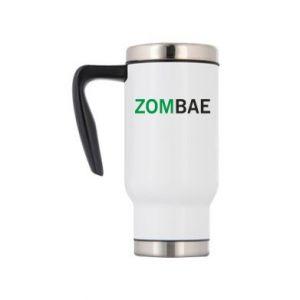 Travel mug Zombae - PrintSalon