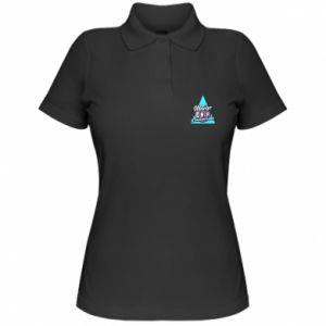 Damska koszulka polo Kwarantanna