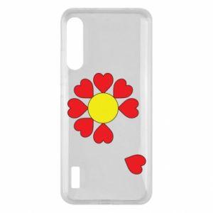 Etui na Xiaomi Mi A3 Kwiat serc