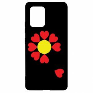 Etui na Samsung S10 Lite Kwiat serc