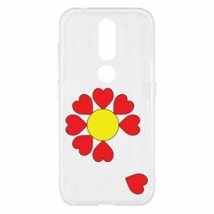 Etui na Nokia 4.2 Kwiat serc