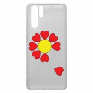 Etui na Huawei P30 Pro Kwiat serc