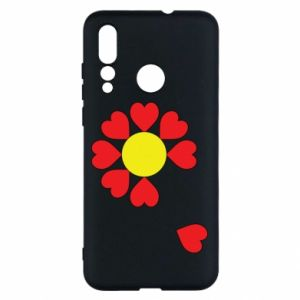 Etui na Huawei Nova 4 Kwiat serc