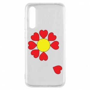 Etui na Huawei P20 Pro Kwiat serc