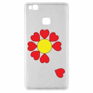 Etui na Huawei P9 Lite Kwiat serc