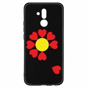 Etui na Huawei Mate 20 Lite Kwiat serc