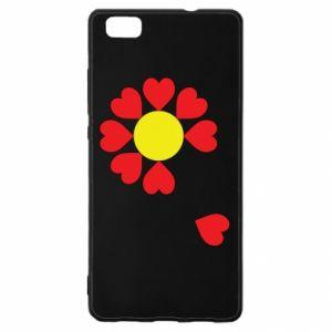 Etui na Huawei P 8 Lite Kwiat serc