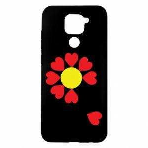 Etui na Xiaomi Redmi Note 9/Redmi 10X Kwiat serc