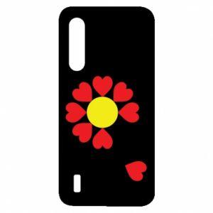Etui na Xiaomi Mi9 Lite Kwiat serc