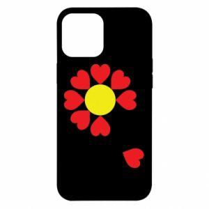 Etui na iPhone 12 Pro Max Kwiat serc