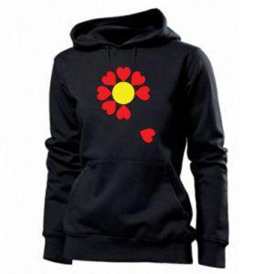 Damska bluza Kwiat serc - PrintSalon